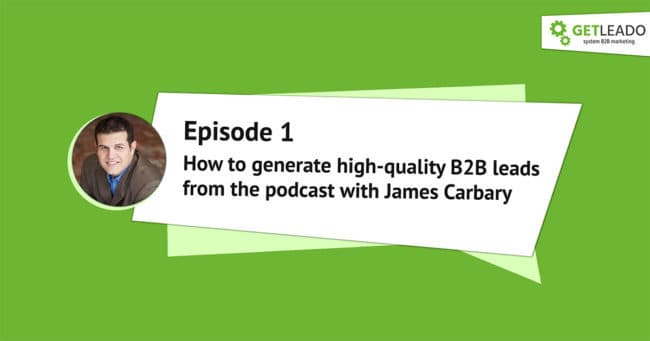 How to generate leads from the podcast