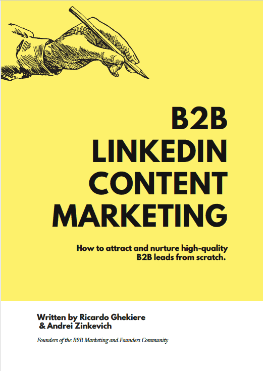 Linkedin content marketing book