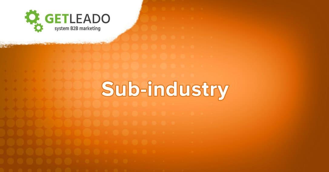 ICP sub-industry