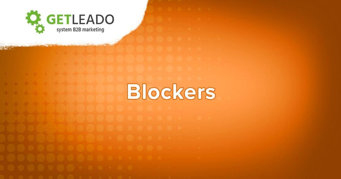 Buying committee blockers